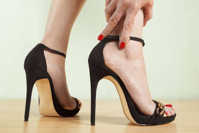 foot pain from heels